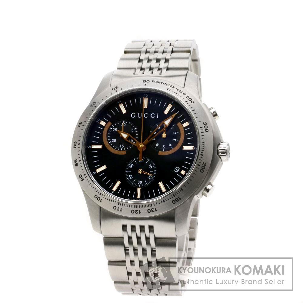 GUCCI YA126257 Gタイムレス 腕時計 ステンレススチール/SS レディース 【中古】【グッチ】
