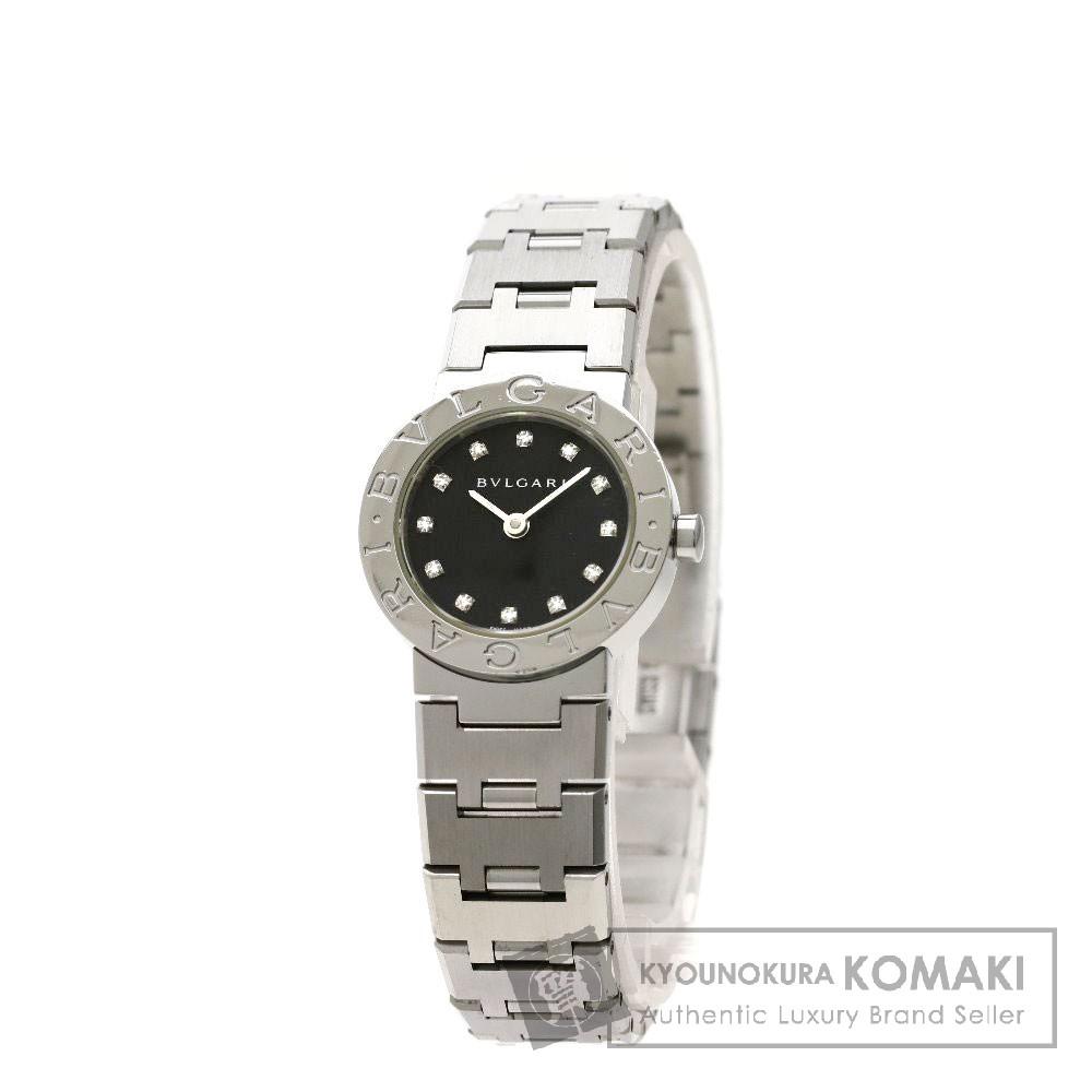 BVLGARI BB23SS/12 ブルガルブルガリ 腕時計 ステンレススチール/SS レディース 【中古】【ブルガリ】