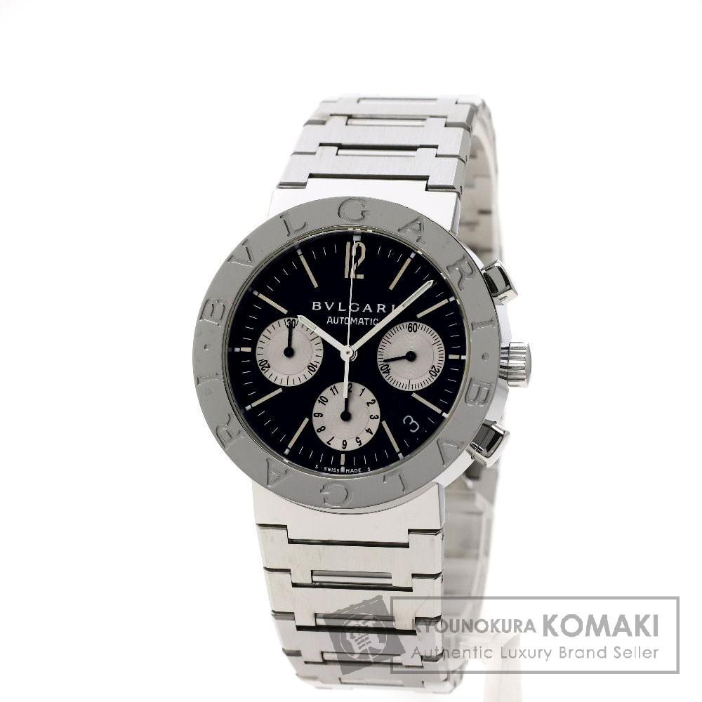 BVLGARI BB38SSDCH ブルガルブルガリ 腕時計 ステンレススチール/SS メンズ 【中古】【ブルガリ】