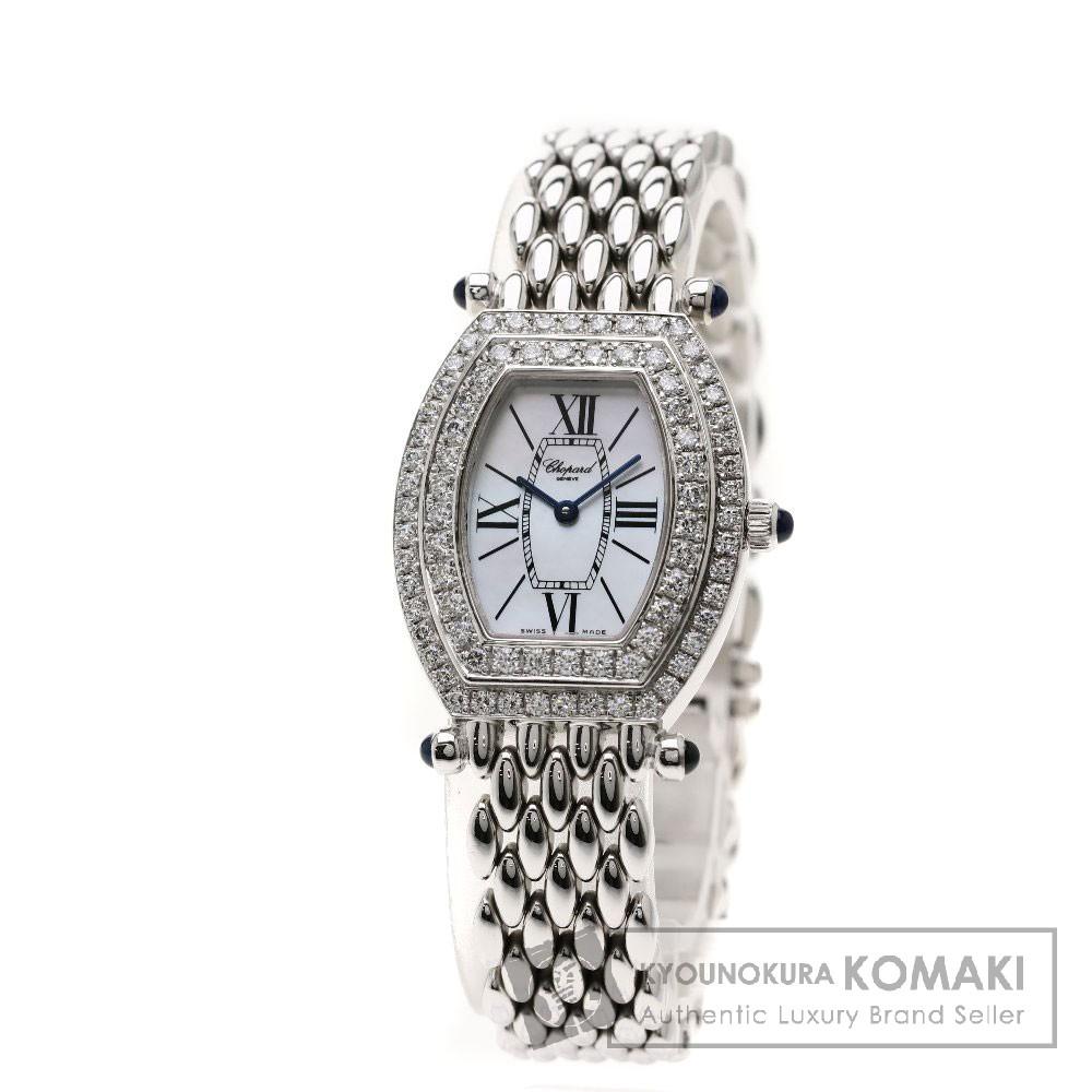 Chopard クラシック 腕時計 K18ホワイトゴールド/K18WG/ダイヤモンド レディース 【中古】【ショパール】