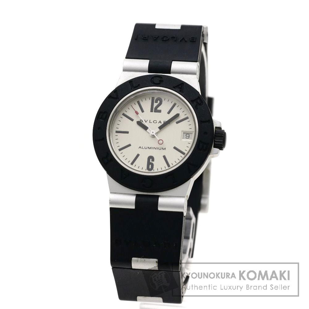 BVLGARI AL32TAVD アルミニウム 腕時計 アルミ/ラバー ボーイズ 【中古】【ブルガリ】