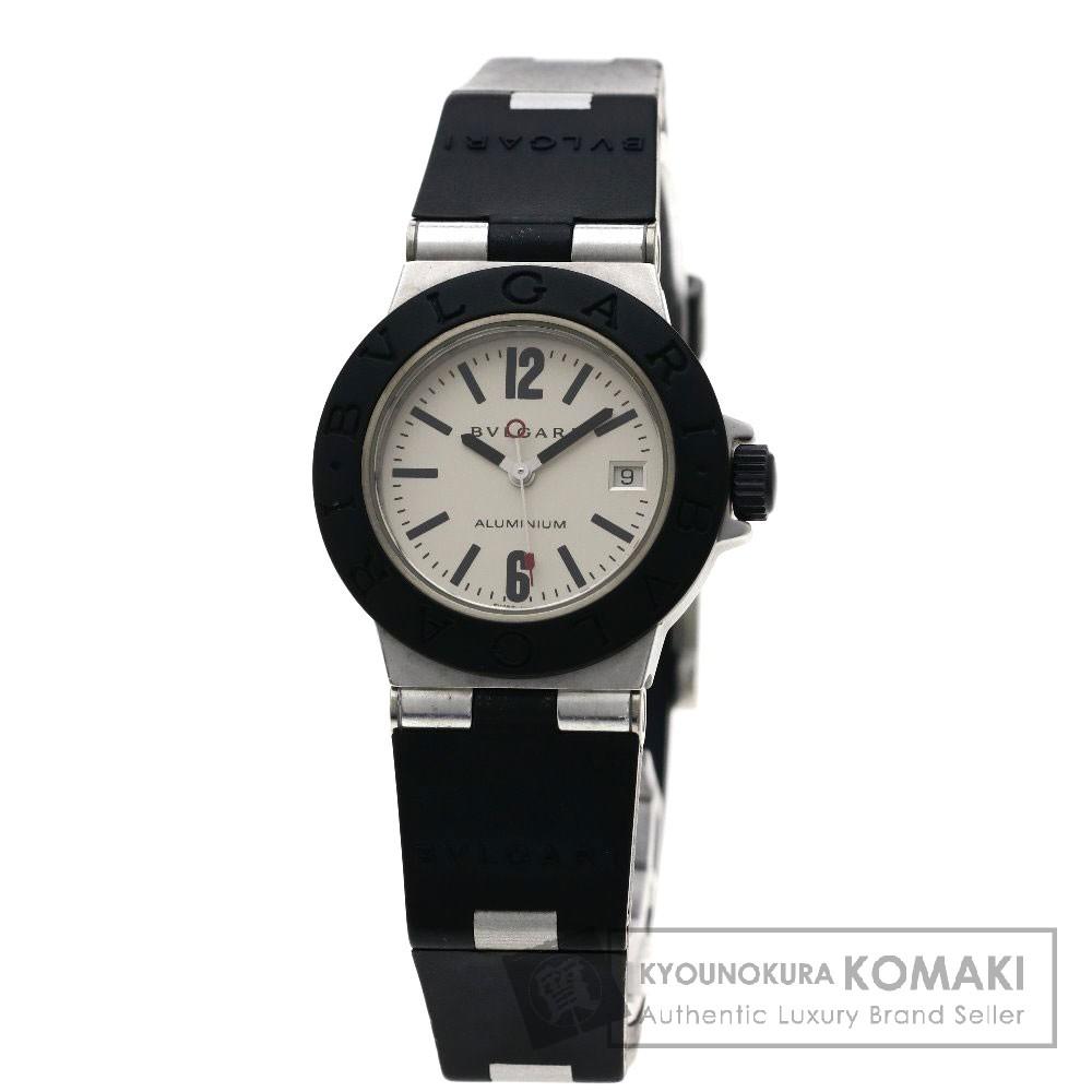 BVLGARI AL29TAVD アルミニウム 腕時計 アルミ/ラバー レディース 【中古】【ブルガリ】