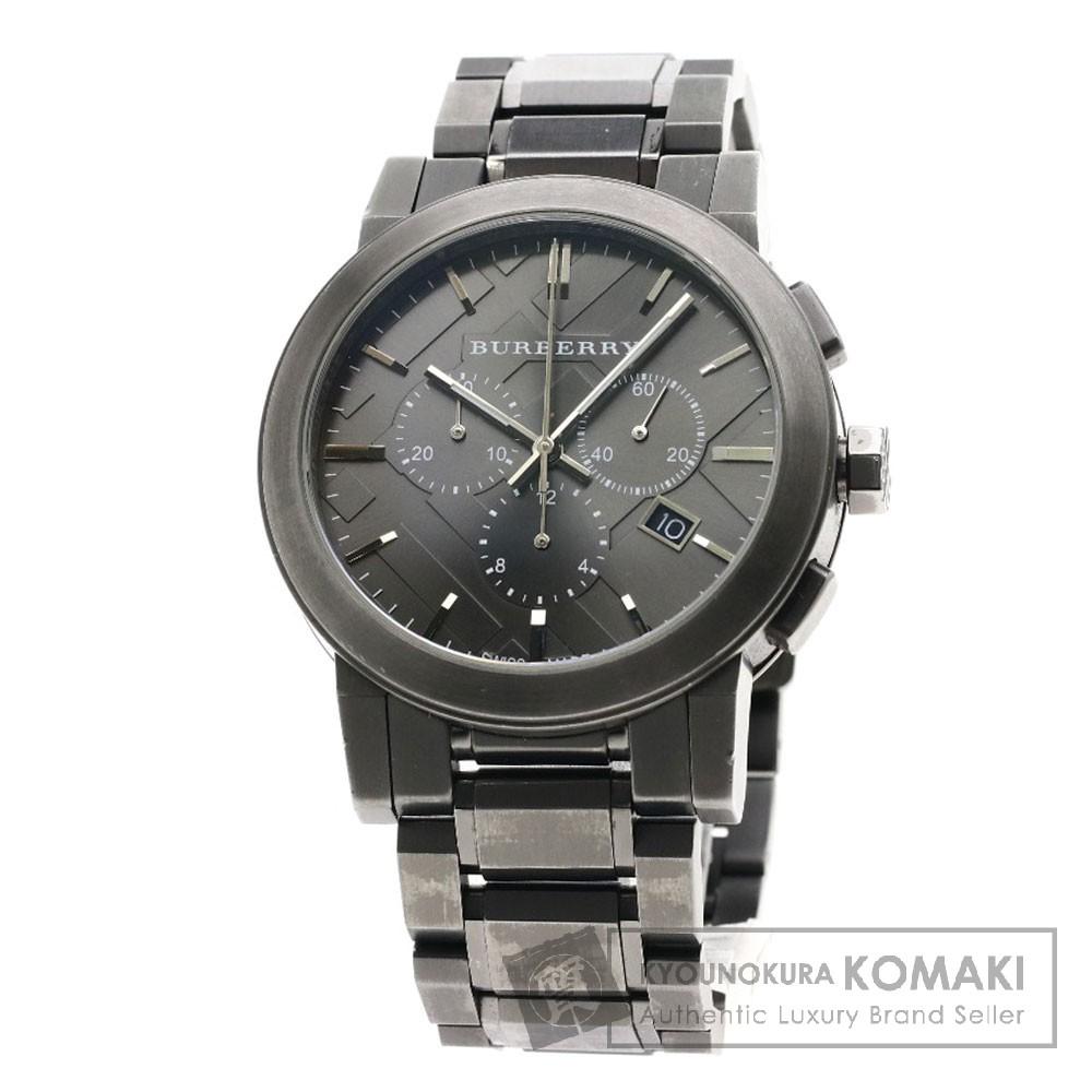 BURBERRY BU9354 シティ メタルベルト 腕時計 ステンレススチール メンズ 【中古】【バーバリー】