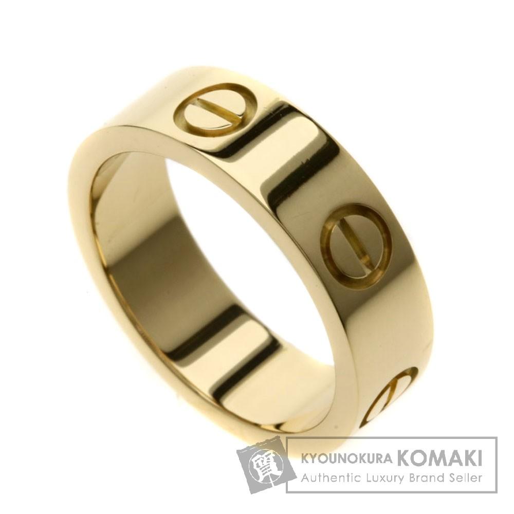 CARTIER 48306950 ラブリング リング・指輪 K18イエローゴールド レディース 【中古】【カルティエ】