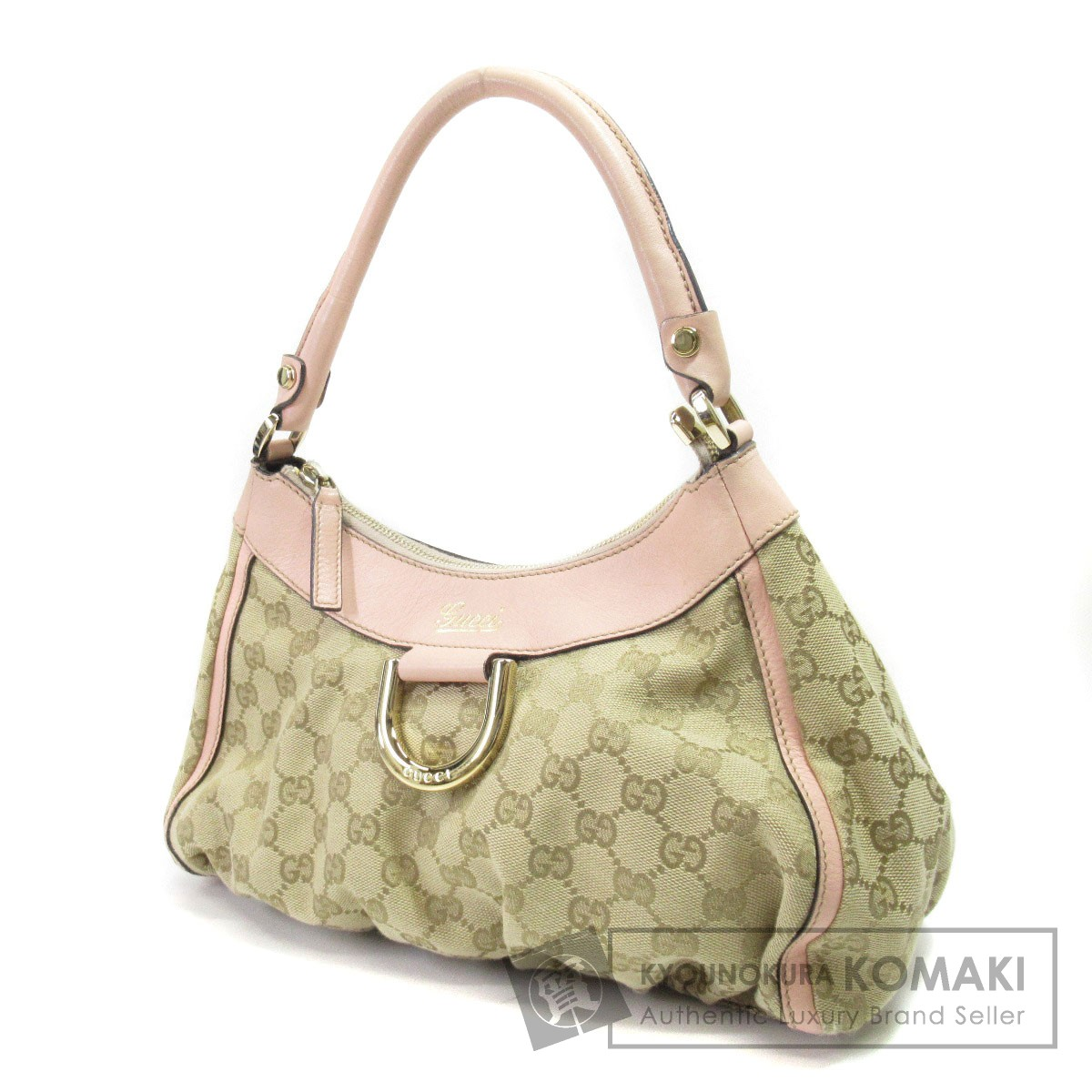 GUCCI 190525 001013 キャンバス GG柄 ハンドバッグ キャンバス レディース GG柄【中古】 001013【グッチ】, チヨダク:beb0230a --- acee.org.ar