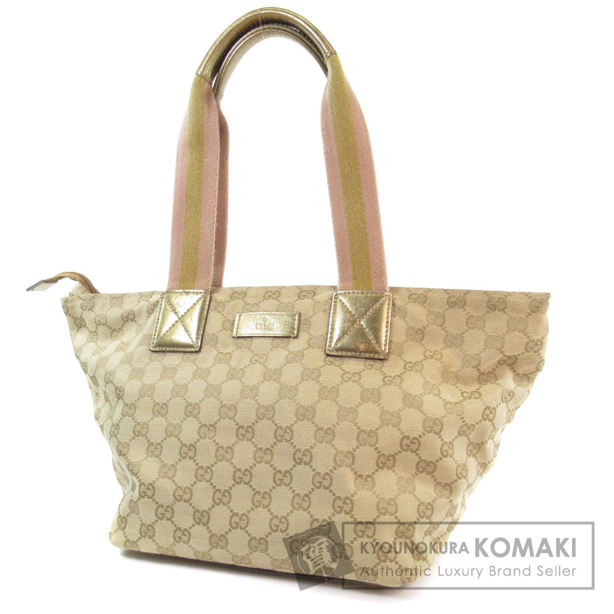 131230 authentic gucci 131230 214397 ggpattern tote bag canvas