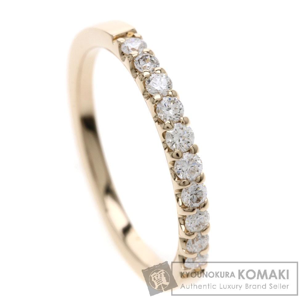 0.28ct メレダイヤモンド リング・指輪 K18ピンクゴールド 2.1g レディース 【中古】