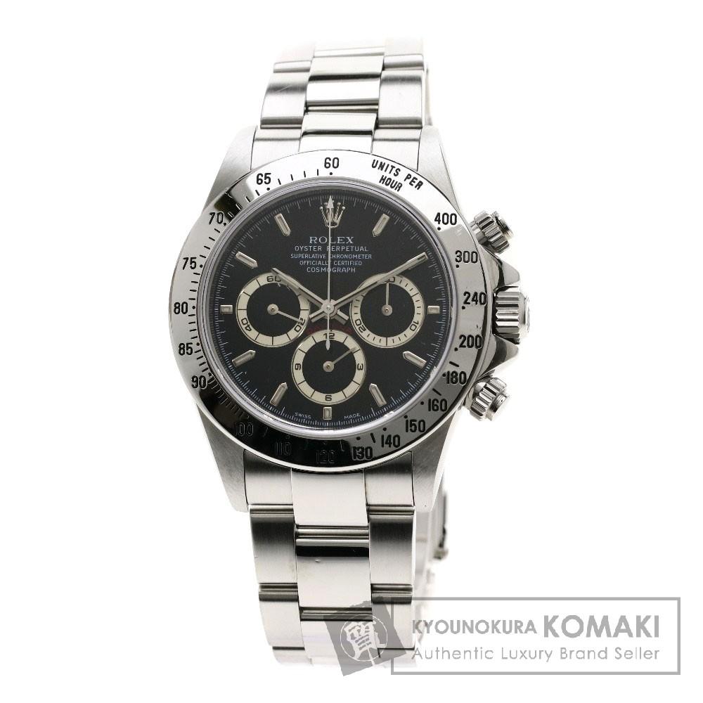 ROLEX 16520 オイスター パーペチュアルコスモグラフ デイトナ 腕時計 OH済 ステンレススチール メンズ 【中古】【ロレックス】