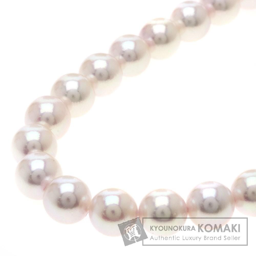 アコヤパール/真珠 ネックレス K14ホワイトゴールド 41.7g レディース 【中古】