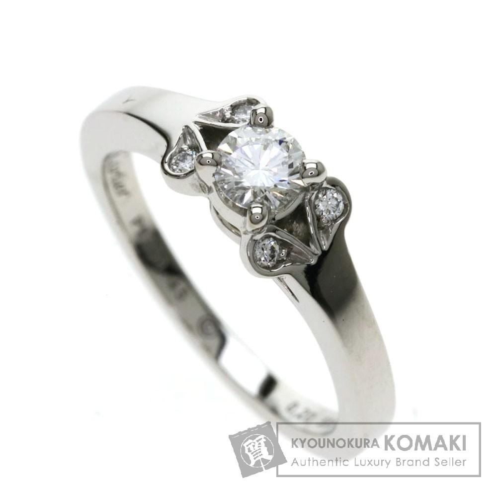 CARTIER CRN4230345 バレリーナ ダイヤモンド リング・指輪 プラチナPT950 レディース 【中古】【カルティエ】