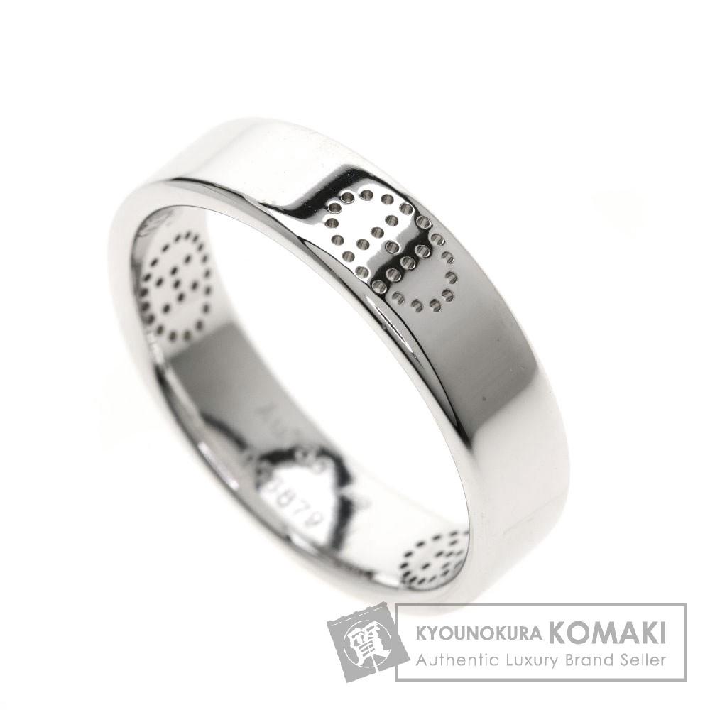 HERMES エリプス リング・指輪 K18ホワイトゴールド メンズ 【中古】【エルメス】