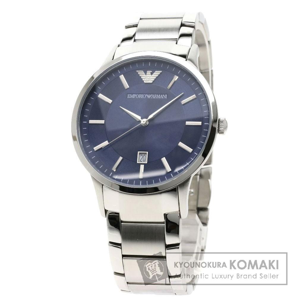 Emporio Armani AR-2477 腕時計 ステンレススチール/SS メンズ 【中古】【エンポリオ・アルマーニ】