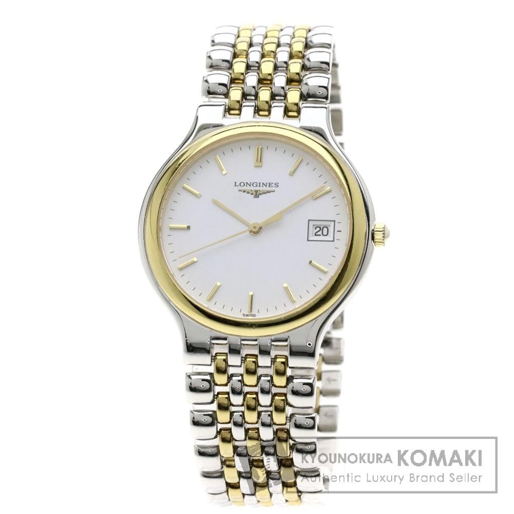 LONGINES L5.631-3 グランドクラシック 腕時計 ステンレススチール/SSxGP メンズ 【中古】【ロンジン】