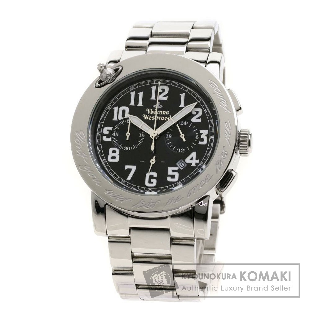Vivienne Westwood VW-2081 キスミーワンス 腕時計 ステンレススチール/SS メンズ 【中古】【ヴィヴィアンウエストウッド】