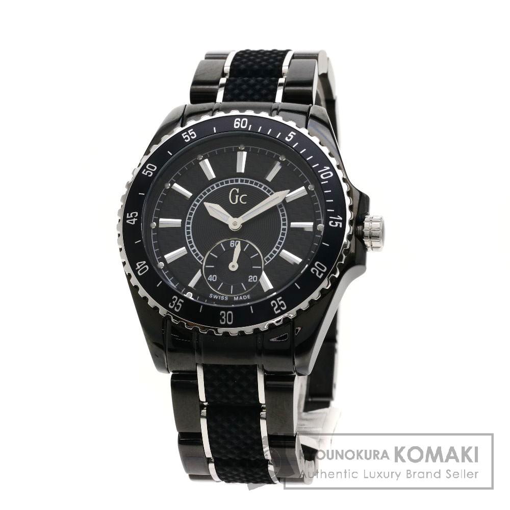 GC 33003L ゲス 腕時計 ステンレススチール/セラミック レディース 【中古】【ジーシー】