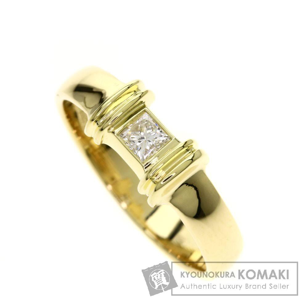 TIFFANY&Co. ダイヤモンド リング・指輪 K18イエローゴールド レディース 【中古】【ティファニー】