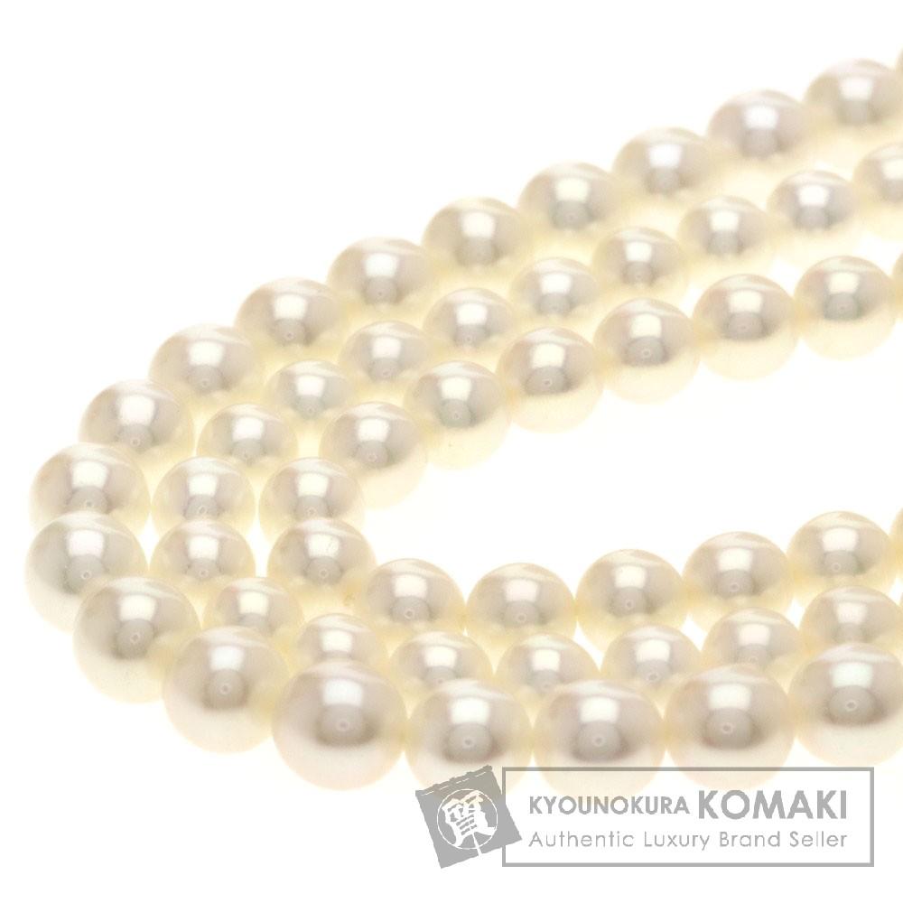 パール/真珠 ネックレス K18ホワイトゴールド 58g レディース 【中古】