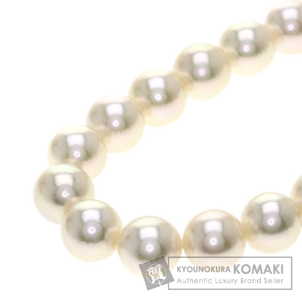 MIKIMOTO パール/真珠 ネックレス K18ホワイトゴールド レディース 【中古】【ミキモト】