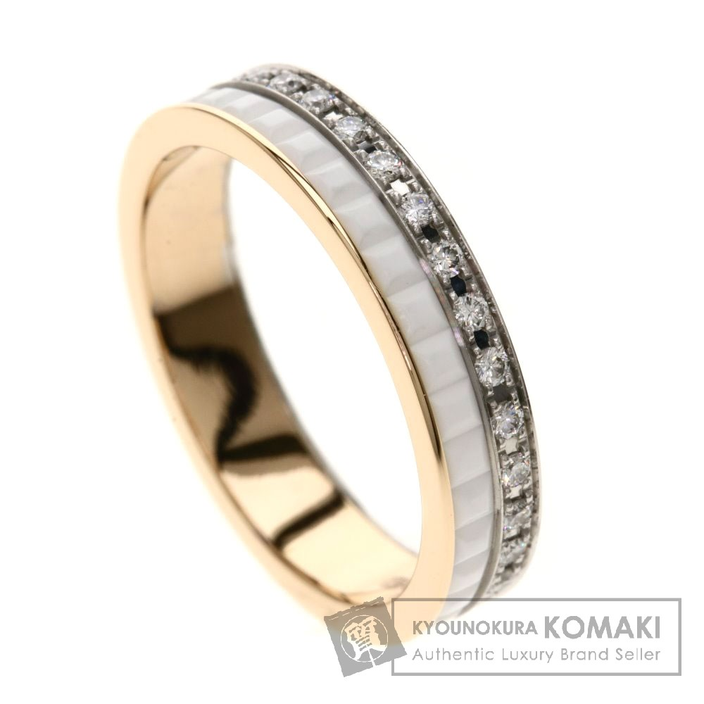 Boucheron キャトル クラシックダイヤモンド リング・指輪 K18ホワイトゴールド/K18PG レディース 【中古】【ブシュロン】