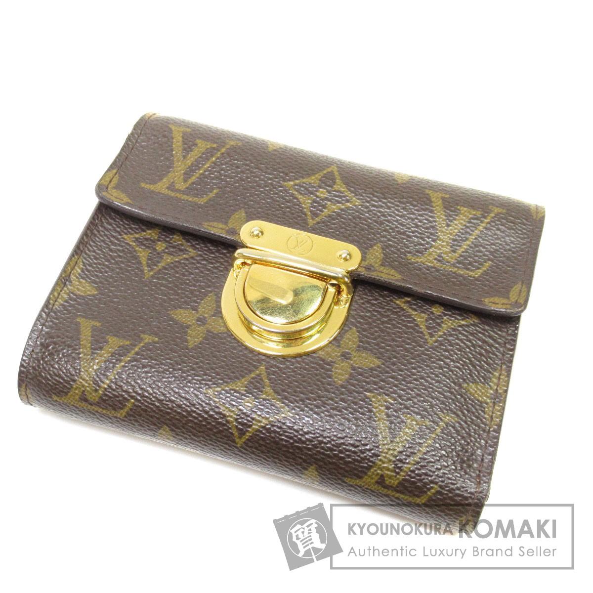 LOUIS VUITTON M58013 ポルトフォイユ・コアラ 二つ折り財布(小銭入れあり) モノグラムキャンバス レディース 【中古】【ルイ・ヴィトン】