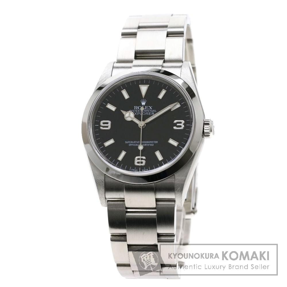 ROLEX 114270 エクスプローラー 腕時計 OH済 ステンレススチール/SS メンズ 【中古】【ロレックス】