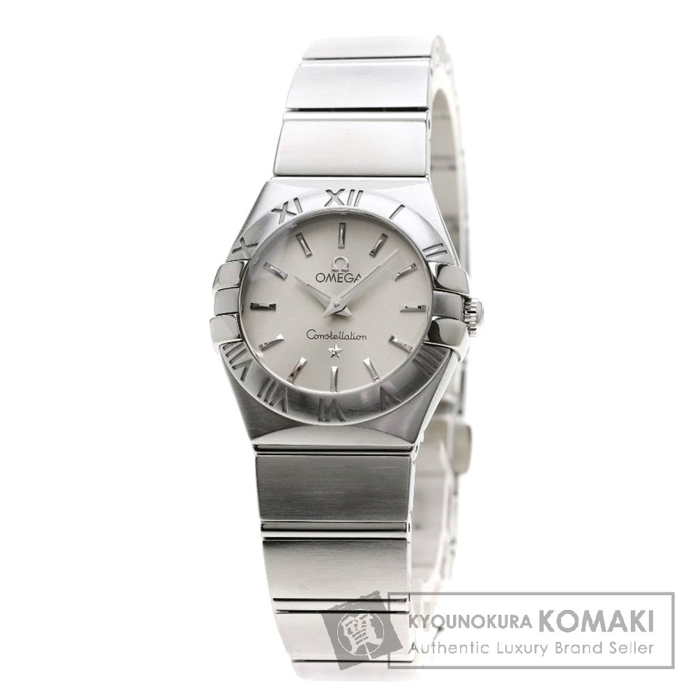 OMEGA 123.10.24.60.02.001 コンステレーション ブラッシュ 腕時計 ステンレススチール/SS レディース 【中古】【オメガ】
