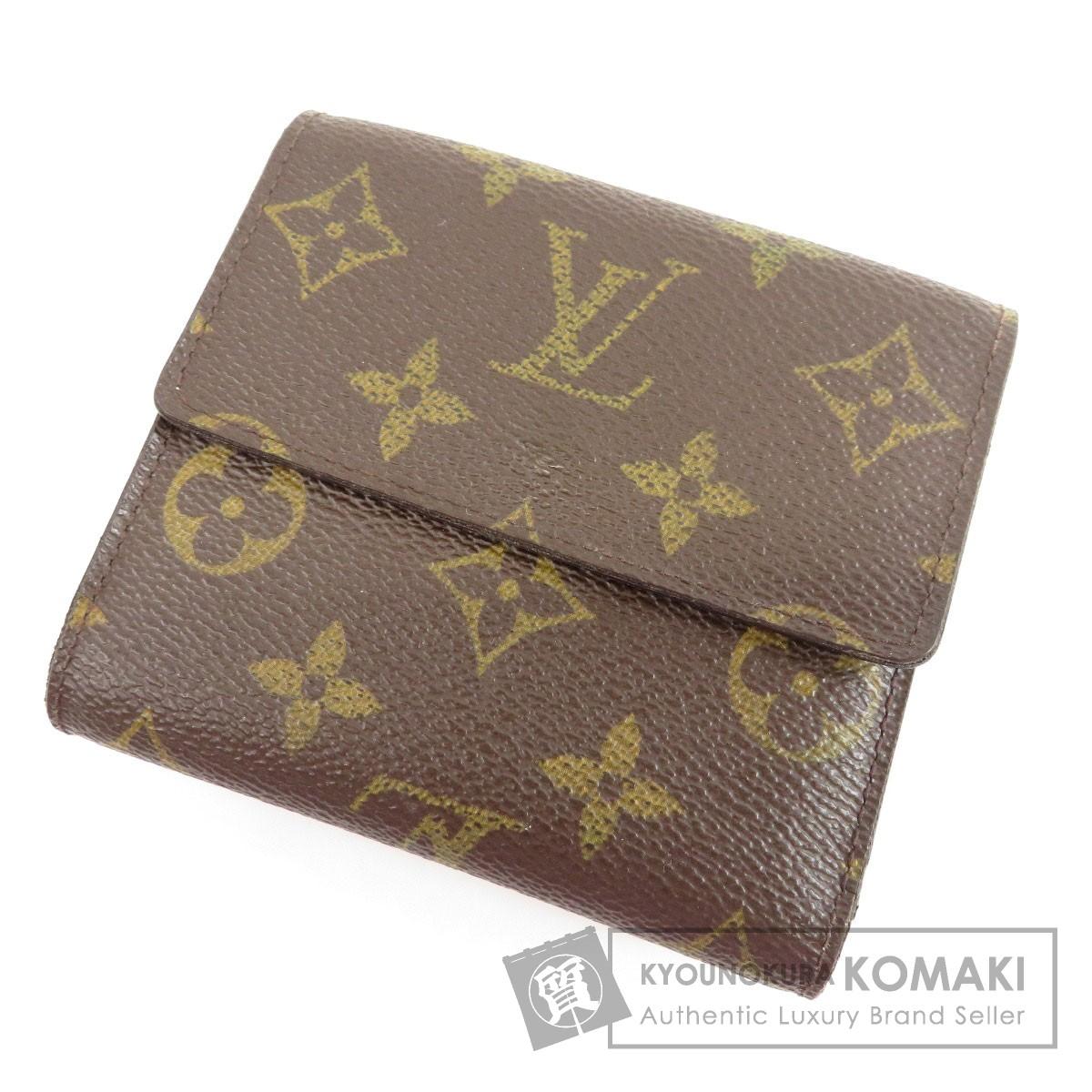 LOUIS VUITTON M60235 ポルトフォイユ・エリーズ  二つ折り財布(小銭入れあり) モノグラムキャンバス レディース 【中古】【ルイ・ヴィトン】