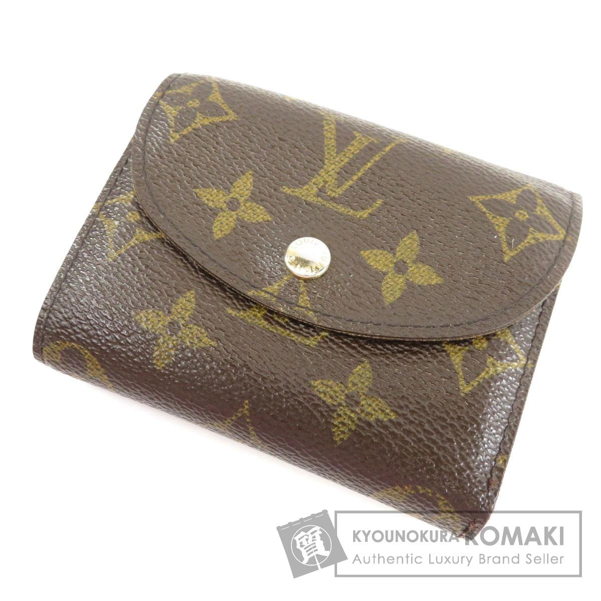 LOUIS VUITTON M60253 ポルトフォイユ エレーヌ 二つ折り財布(小銭入れあり) モノグラムキャンバス レディース 【中古】【ルイ・ヴィトン】