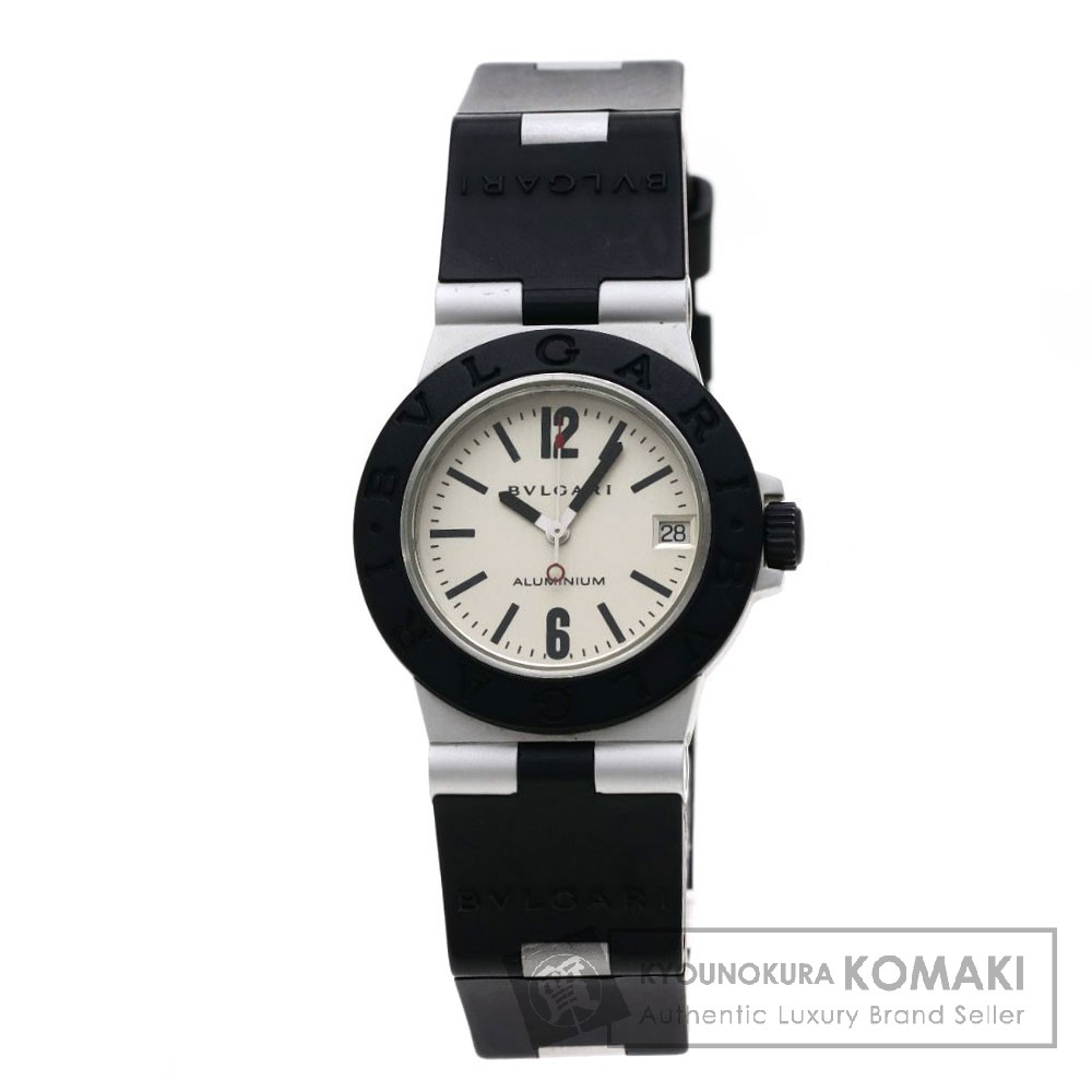 BVLGARI AL32TAVD アルミニウム 腕時計 アルミニウム/ラバー ボーイズ 【中古】【ブルガリ】