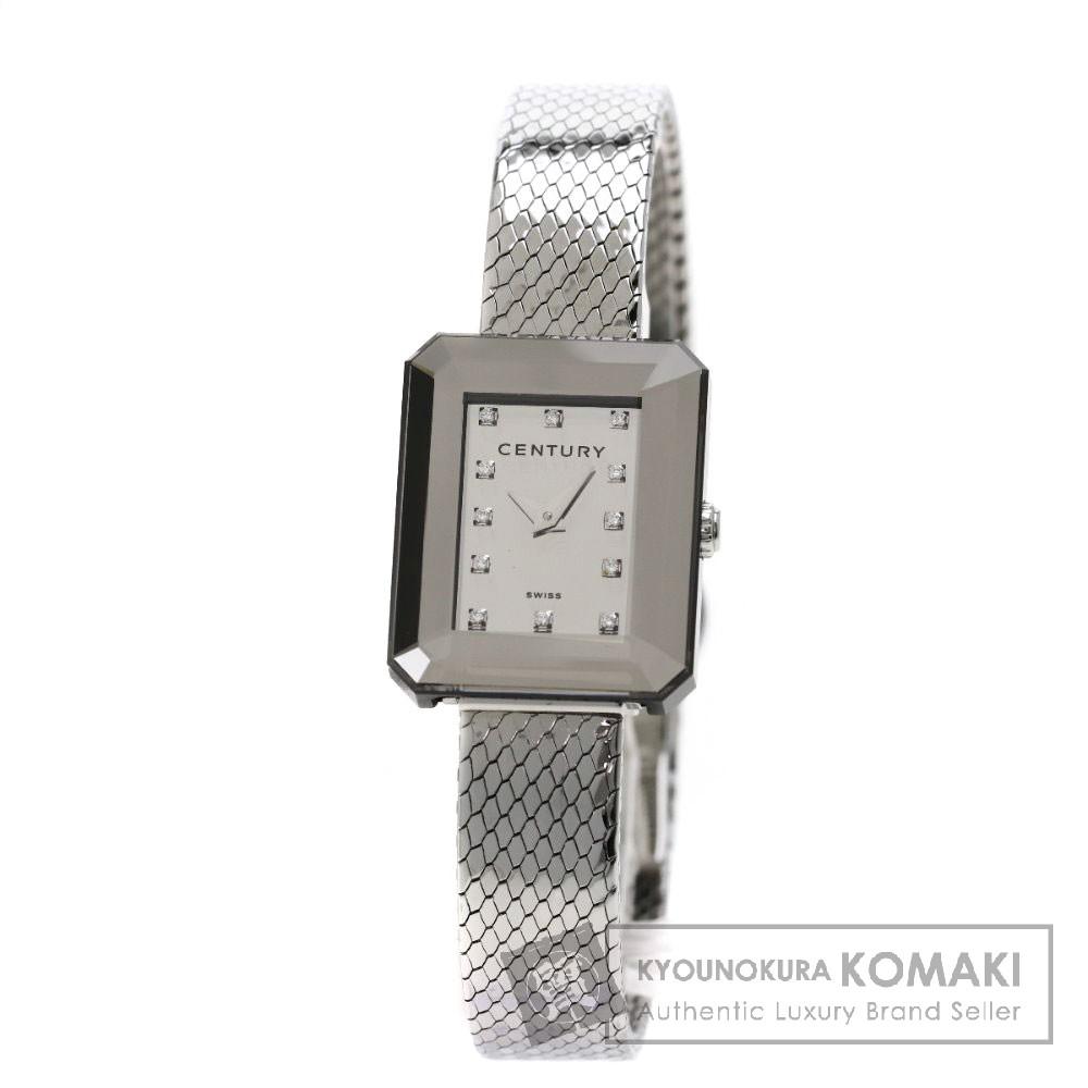 CENTURY 532.7.203.12SML クチュール ダイヤモンド 腕時計 ステンレススチール/SS レディース 【中古】【センチュリー】
