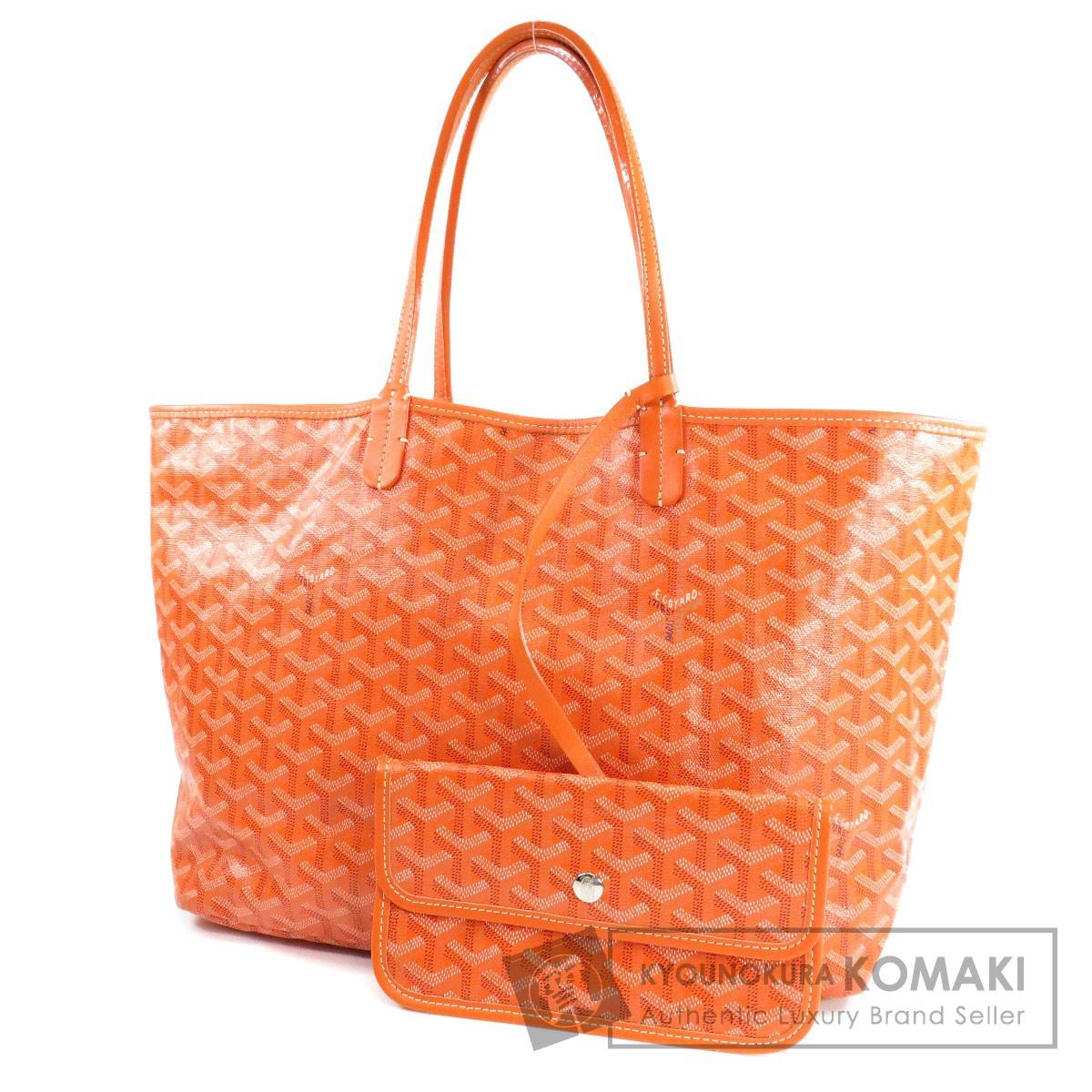 GOYARD サンルイPM トートバッグ PVC レディース 【中古】【ゴヤール】