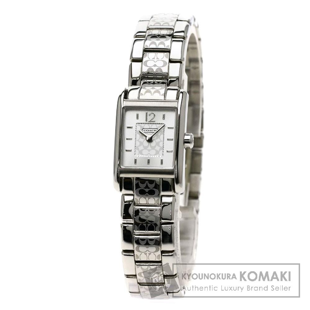 COACH CA.62.7.14.0594 ミニシグネチャー 腕時計 ステンレススチール レディース 【中古】【コーチ】