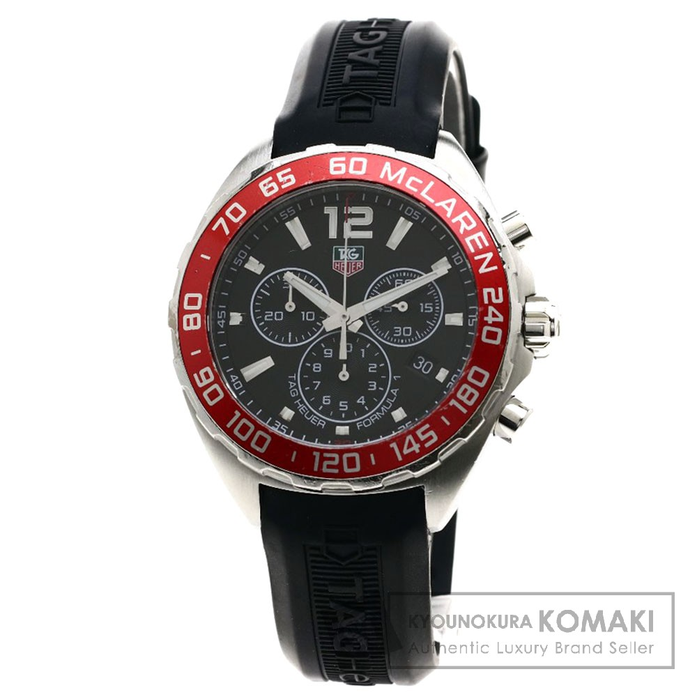 TAG HEUER CAZ1112 フォーミュラ1 マクラーレン5000本限定 リミテッド 腕時計 ステンレススチール/ラバー メンズ 【中古】【タグホイヤー】