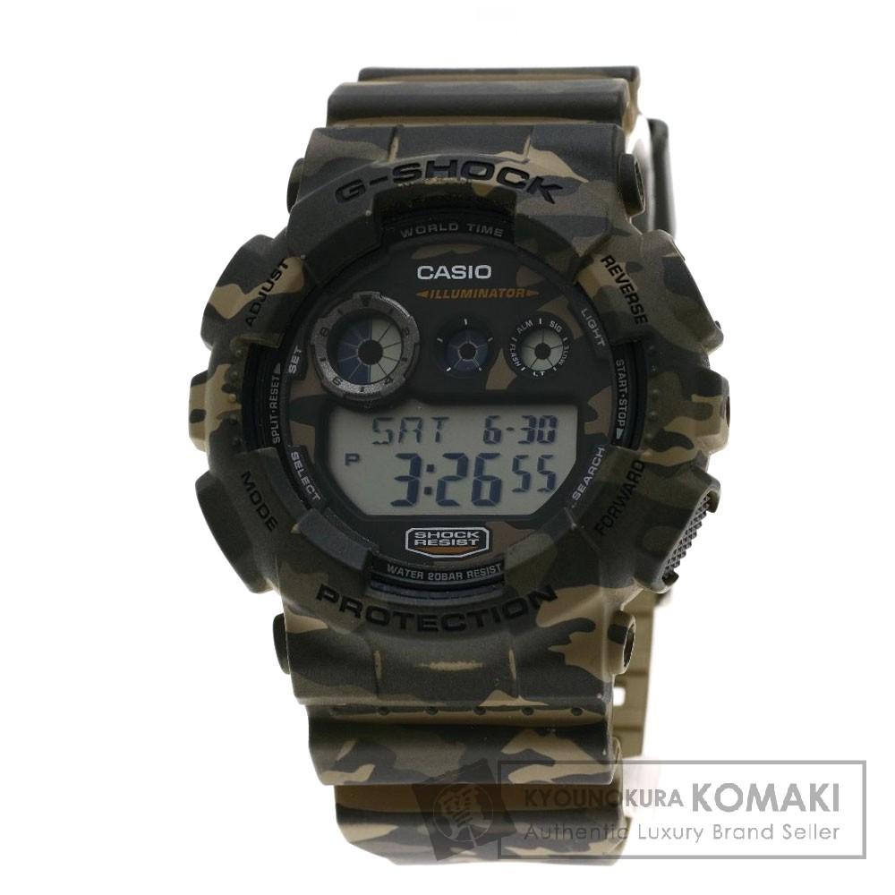 CASIO GD-120CM G-SHOCK/ジーショック/カモフラージュ 腕時計 樹脂 メンズ 【中古】【カシオ】