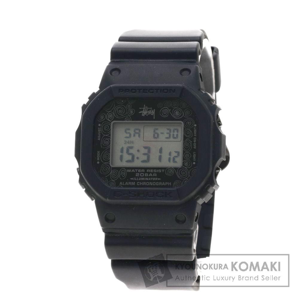 CASIO DW-5000ST STUSSY25周年限定コラボ/G-SHOCK/ジーショック 腕時計 樹脂 メンズ 【中古】【カシオ】