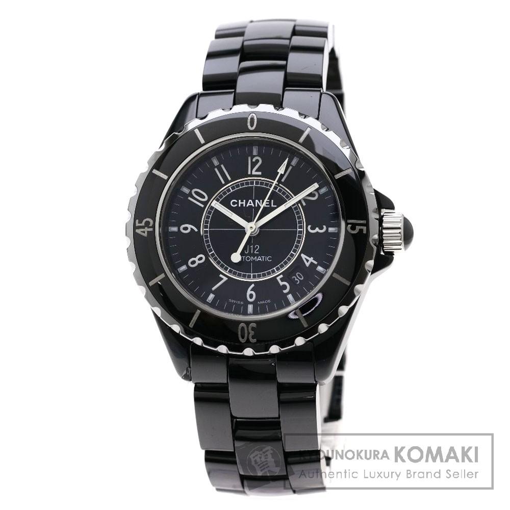 CHANEL H0685 J12 38 腕時計 OH済 セラミック/セラミック メンズ 【中古】【シャネル】