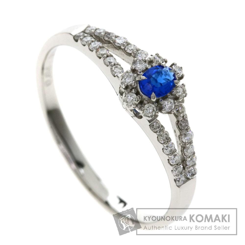 0.06ct アウィナイト/ダイヤモンド リング・指輪 プラチナPT900 2.4g レディース 【中古】