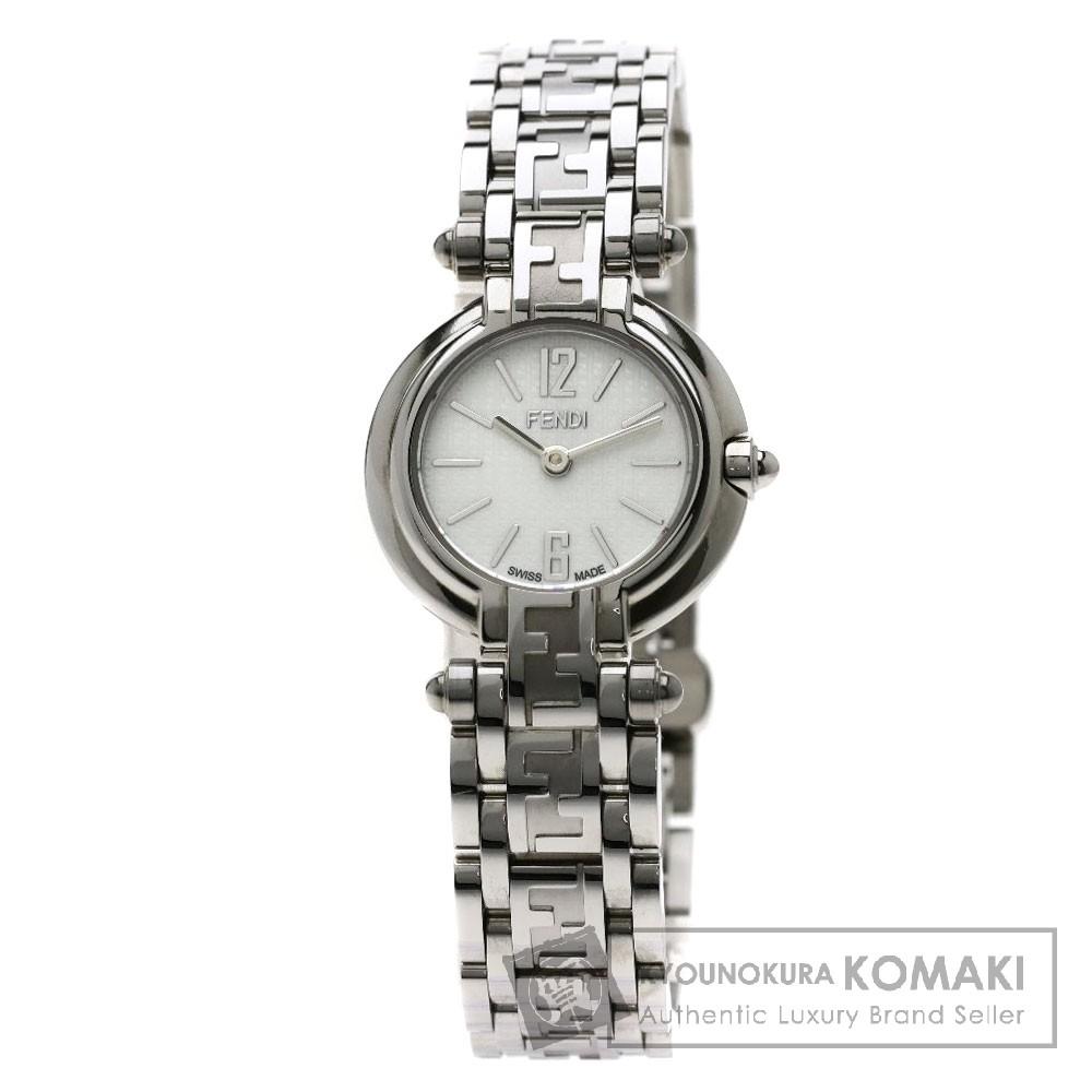 FENDI 066-750L ズッカ 腕時計 ステンレススチール/SS レディース 【中古】【フェンディ】