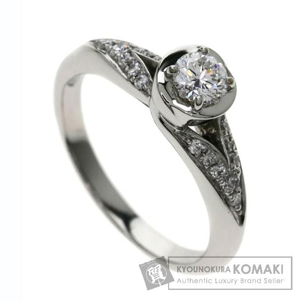 BVLGARI AN857699 インコントロ ダモーレ ダイヤモンド リング・指輪 プラチナPT950 レディース 【中古】【ブルガリ】