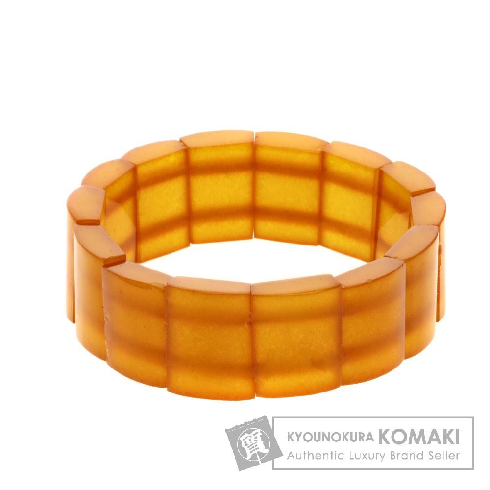 コハク/琥珀 バングル ブレスレット 28.7g レディース 【中古】