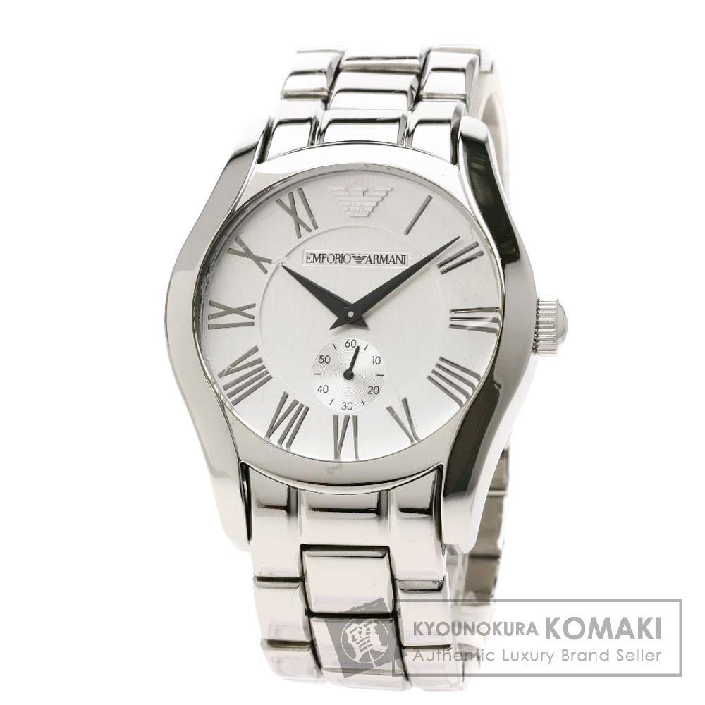 Emporio Armani AR0647 腕時計 ステンレススチール メンズ 【中古】【エンポリオ・アルマーニ】