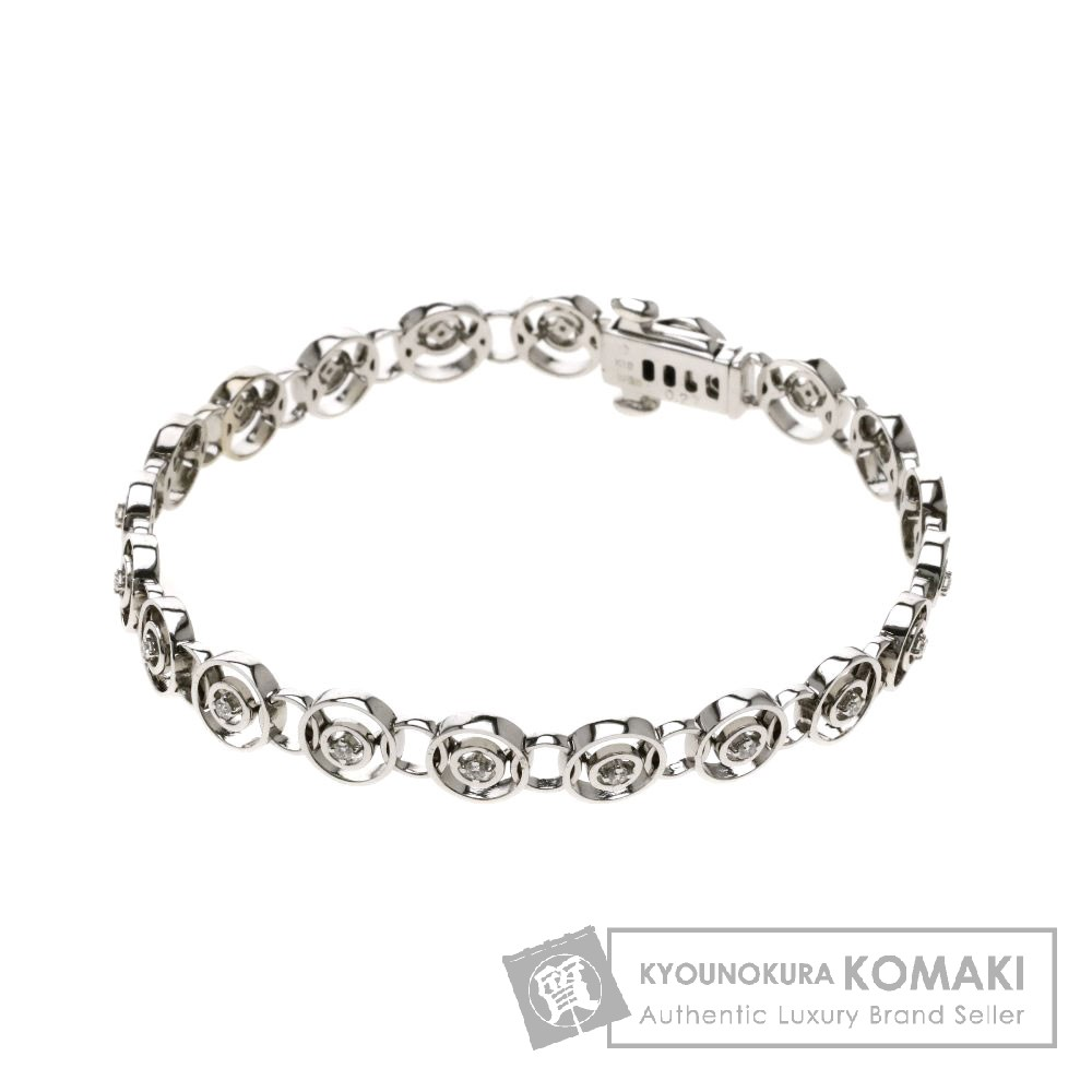 TASAKI メレダイヤモンド ブレスレット K18ホワイトゴールド レディース 【中古】【タサキ】