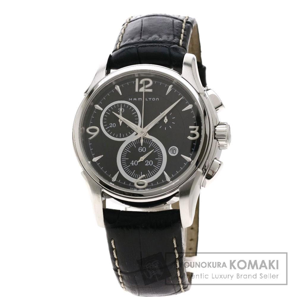 HAMILTON H326120 ジャズマスター 腕時計 ステンレススチール/レザー メンズ 【中古】【ハミルトン】