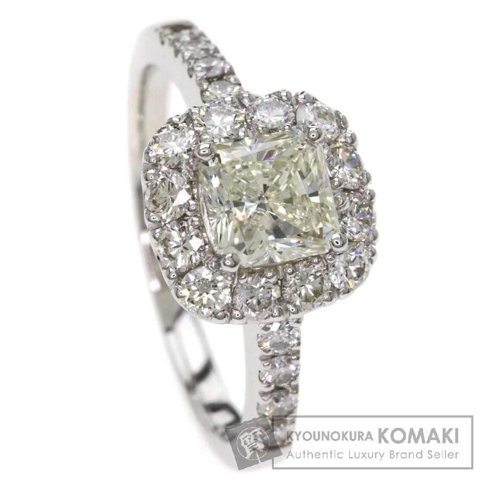 1.02ct ダイヤモンド リング・指輪 プラチナPT900 5.4g レディース 【中古】