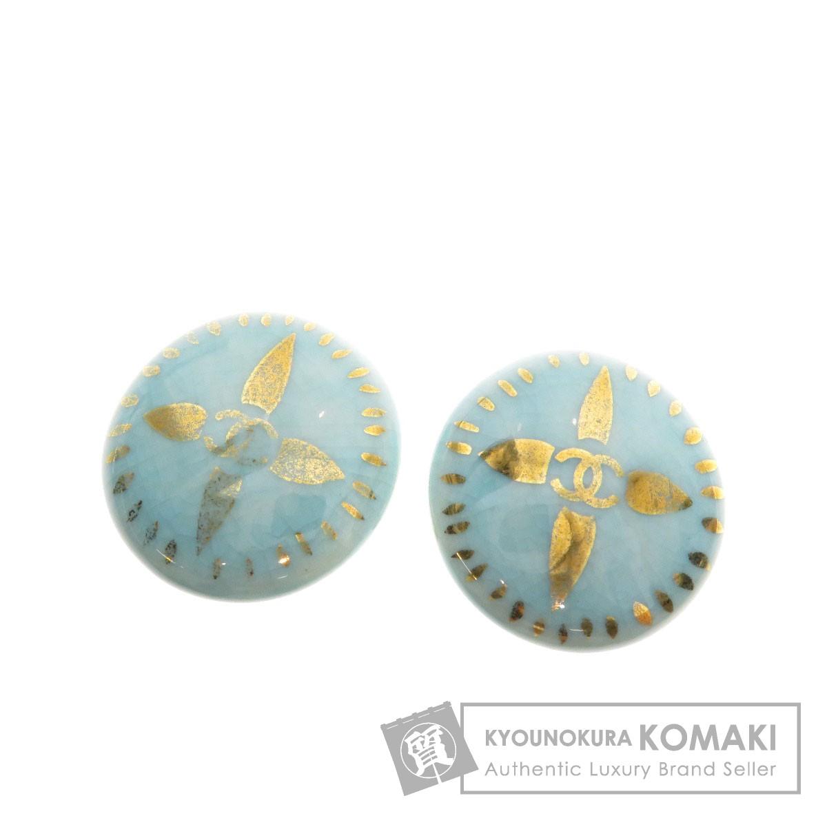 CHANEL ココマーク イヤリング 陶器/金属製 レディース 【中古】【シャネル】