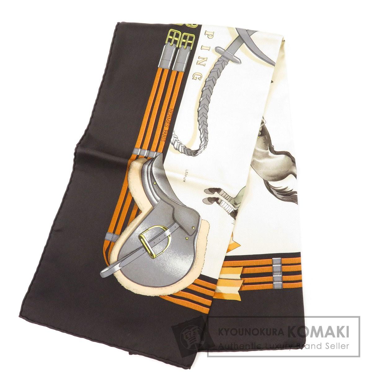 HERMES カレ90 JUMPING スカーフ シルク レディース 【中古】【エルメス】