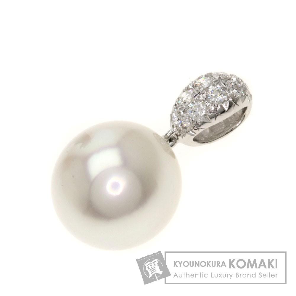 ペンダントトップ/パール/真珠/ダイヤモンド ペンダント プラチナPT900 4.5g レディース 【中古】