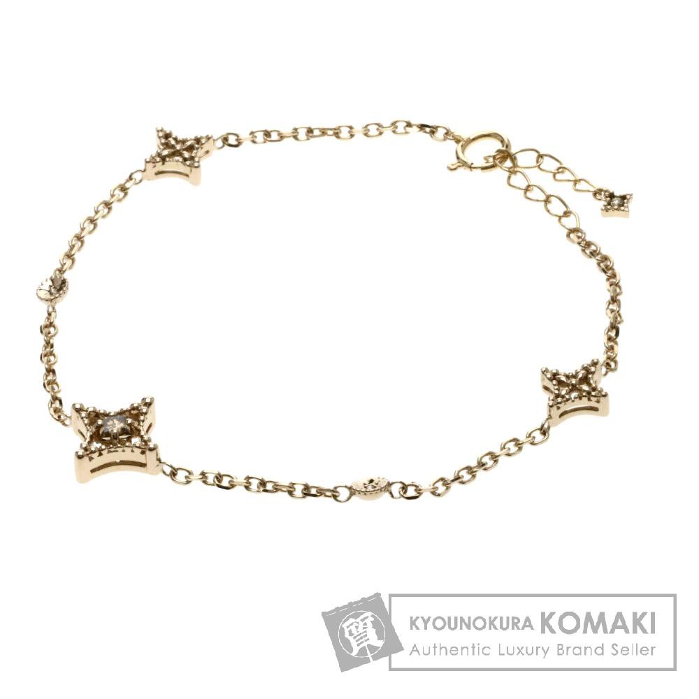 0.206ct ダイヤモンド/ダイヤモチーフ ブレスレット K18ピンクゴールド 4.1g レディース 【中古】