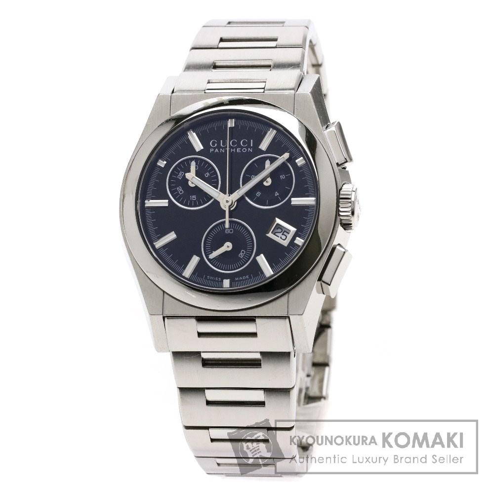 GUCCI YA115.406 パンテオン 腕時計 ステンレススチール ボーイズ 【中古】【グッチ】