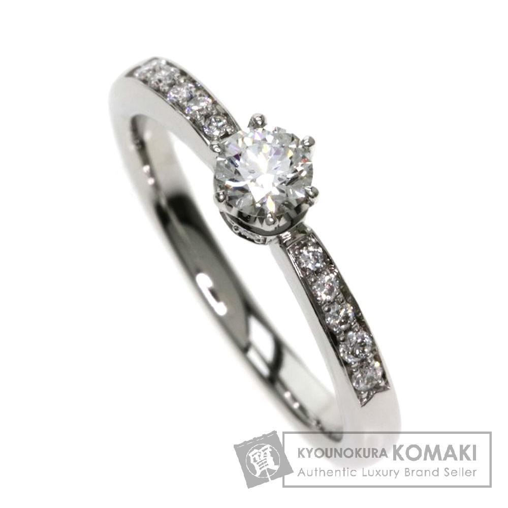 4℃ ダイヤモンド リング・指輪 プラチナPT950 レディース 【中古】【ヨンドシー】